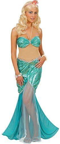 Widmann 56172, Disfraz de Sirena, Verde, M: Amazon.es: Juguetes y ...