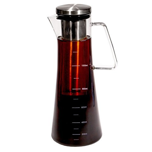 Why Should You Buy Handi Home Cold Brew Coffee Maker Brewed Ice Coffee and Tea Pitcher 1.3 Quart | 1...