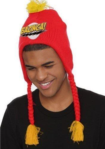 Big Bang Theory Red Bazinga Lapander Beanie Hat