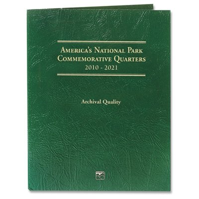2010-2018 – 45 Coin National Park Quarter Set In Littleton Folder Uncirculated