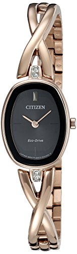 Citizen Eco Drive Womens Silhouette Stainless