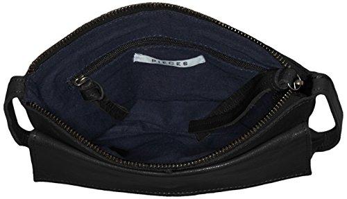 Pieces Black Pclilja épaule Noir Cross portés Body Sacs Leather 8P8fAwrq
