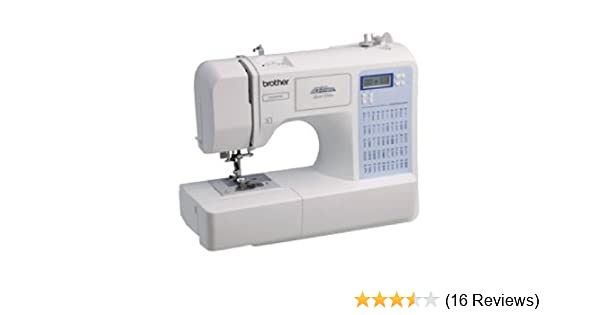 Amazon Brother CE40 Limited Edition Project Runway Awesome White 5500 Sewing Machine