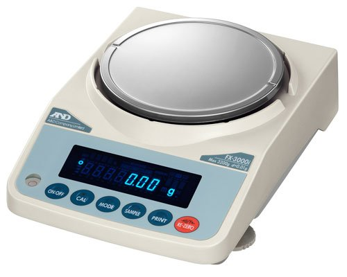 A&D FX-3000iN NTEP Approved Legal For Trade Scale US Canada Precision Balance 300 x 0.001g