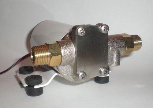 Electric Oil Scavenge Gear Pump Remote Turbo Rear Mount Return Line 12 Volts