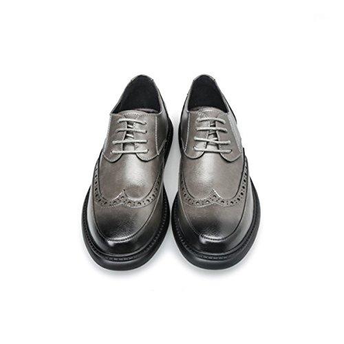 Da Sposa Scarpe Vintage Scarpe Formali Stringate Uomo Classiche Grey Oxford Eleganti Business Per Scarpe Uomo Da Owq7twS