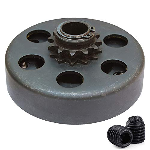 Centrifugal Clutch, Go Kart Clutch 3/4 Bore 12T for 35 Chain, Up to 6.5 HP, Perfect for Go Kart, Minibike and Fun Kart Engine 3/4 Bar ()