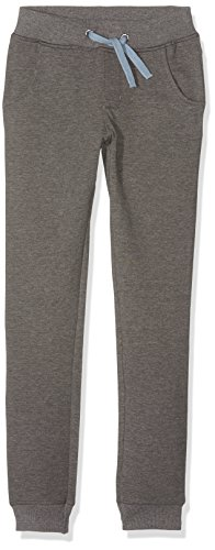 NAME IT Jungen Hose Nitpaulis Sweat Pants Nmt, Grau (Dark Grey Melange), 134