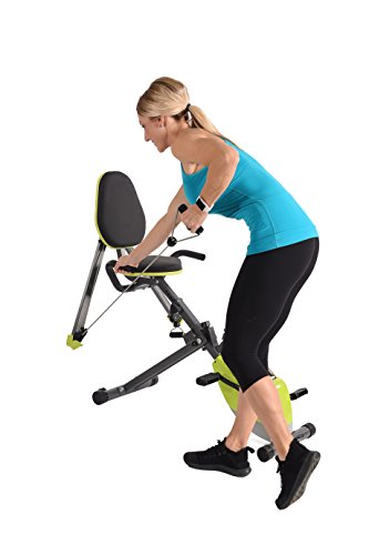 Stamina Wonder Exercise Bike with Upper Body Strength System and Two Free  Online Workout Videos