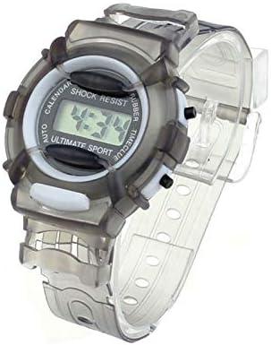 Reloj para Niña Reloj Digital de Niños Niñas Estudiantes de Pulsera Digital Reloj del Deporte Ajustable (Color : Light Red): Amazon.es: Hogar