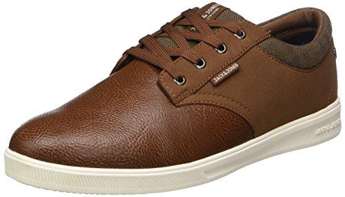 amp; JONES Mix Herren Cognac JACK Braun PU Sneaker Cognac Jfwgaston TvdSxq6wAq