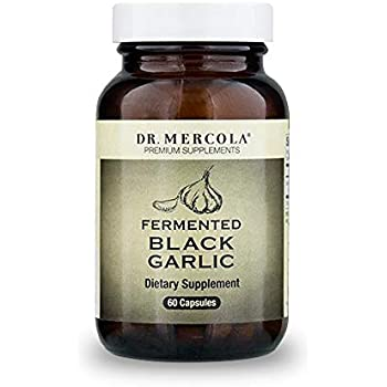 Dr. Mercola Fermented Black Garlic - 60 Capsules