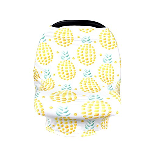 (YJYdada Materity Top CarSeat Cover Canopy Nursing Cover Crib Baby Stroller Cover Canopy (C))