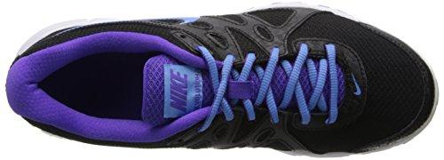 Nike Womens Revolution 3 Scarpa Da Corsa Nero / Nero Università / Iper Uva / Bianco