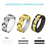 Invisible Ring Size Adjuster with Silver Polishing Cloth,Jewelry Guard, Tightener,Spacer, Sizer, Fitter,Reducer for Wide Rings,Multi-Size Ring Resizer,Set of 54+3 PCS