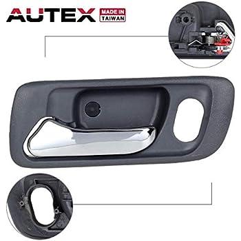 Autex gray interior door handle front left - 2000 honda accord exterior door handle ...