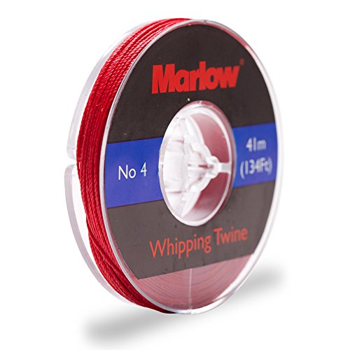 - Knot & Rope # 4 Red Whipping Twine by Marlow