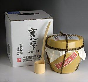 甕雫【かめしずく】芋焼酎 20度 1800ml