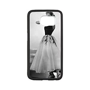 Samsung Galaxy S6 Cell Phone Case White Grace Kelly epu