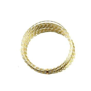 Amazon.com: 39ft 12-Gauge Gold Aluminum Diamond Wire: Arts, Crafts ...
