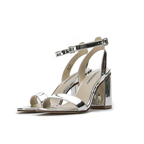 Windsor Smith Women's Court Shoes Silver Silver ph1U2