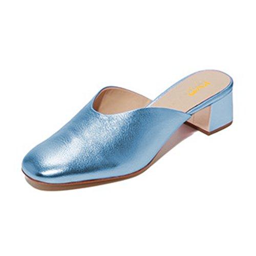 Xyd Casual Slip On Mule Bas Chaussures à Talons Bas Mule Slide Pantoufles be3f0e