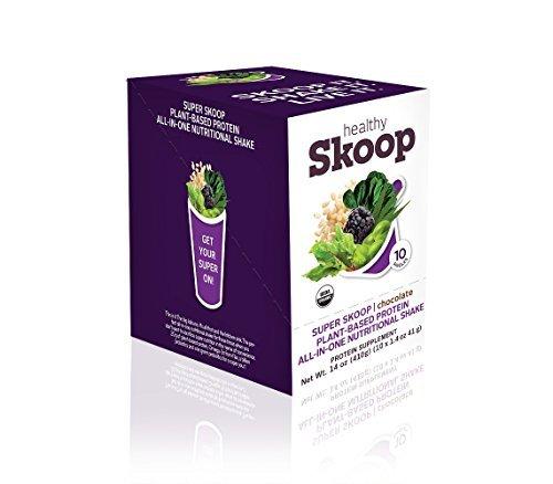 Healthy Skoop All-in-One Breakfast Protein Organic Nutrit...