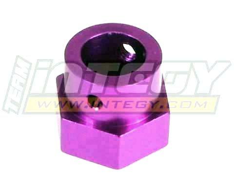 Hpi Brake Disk - Integy RC Model Hop-ups T7005P Billet Machined Alloy Brake Disk Hub for HPI Savage-X, 21 & 25
