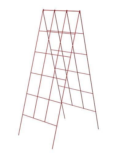 (Panacea A-Frame Plant Supports, Red, 48
