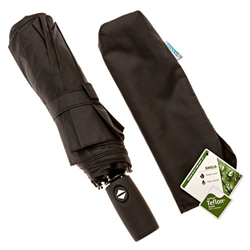 Compact Travel Umbrella Windproof Automatic