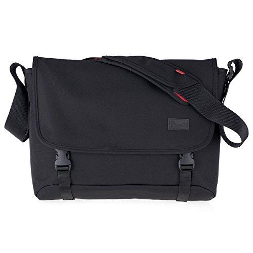 Crumpler: Skivvy Commuter Style Shoulder Bag - Black