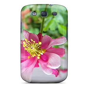 Defender Case For Galaxy S3, Delicate Flower Pattern