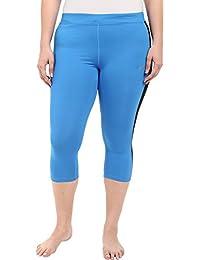 Nike Women's Dri-FIT Essential Capri Cropped Tights XXX-Large Photo Blue Black