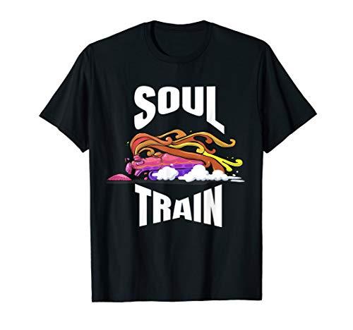 Train T-shirt Boogie Train shirt Groovy Disco Train Tee ()