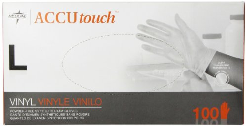 Medline Accutouch Powder Free Latex Free Synthetic