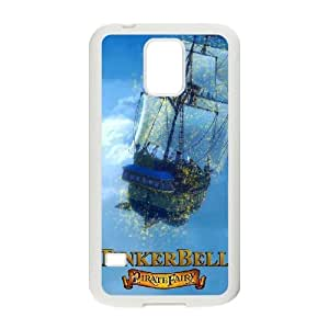 Samsung Galaxy S5 Cell Phone Case White Pirate Fairy Clear Phone Case Unique VAT