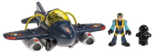Jet Blue Landing Gear - Fisher-Price Imaginext Sky Racers Twister Jet