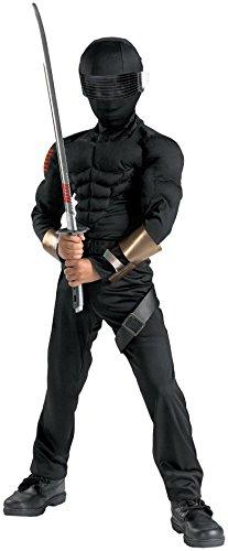 Disguise Inc - GI Joe - Snake Eyes Classic Muscle Child Costume
