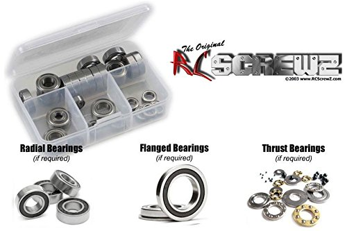RC Screwz Rubber Shielded Bearing Kit for Serpent 988 Viper 1/8th #ser065r