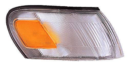 (For 1993 1994 1995 1996 1997 Toyota Corolla Sedan/Wagon Turn Signal Corner Light lamp Assembly Passenger Right Side Replacement TO2551106)