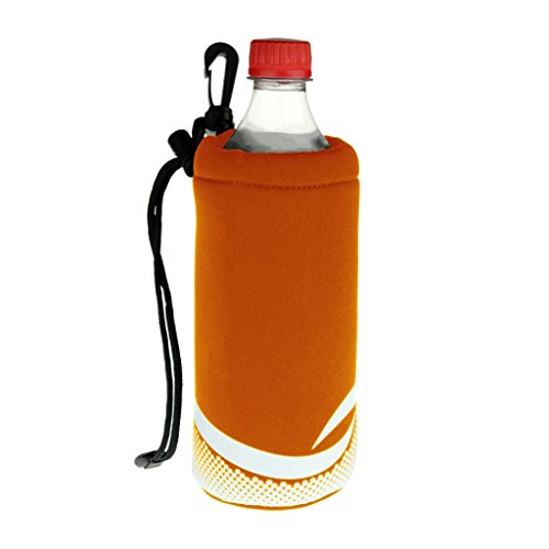 16 Ounce Sack - ProActive Sports Neoprene Bottle Holder with Drawstring and Bag Clip for 16-20oz Bottles
