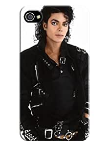 Cool Michael Jackson fashionable designed TPU phone protection case For iphone 4/4s