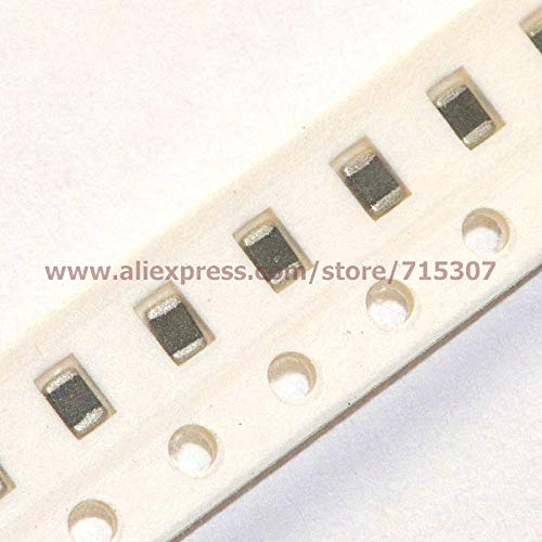 Davitu 100pcs SMD chip varistor 0805 (2012, L x W = 2.0 x 1.25mm) 25V 60A, Max DC Volts = 18V - (Color: 500pF)