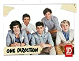 One Direction trading card #93 Louis Tomlinson, Niall Horan, Liam Payne, Zayn Malik, Harry Styles