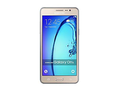 Samsung Galaxy On5 SM-G5500 GSM Factory Unlocked 5-Inch 8Gb Dual SIM Smartphone, - (Gold)