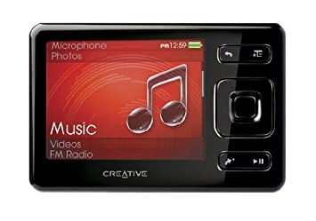 creative zen mx 16gb mp3 and video player with sd card slot amazon rh amazon co uk Creative Zen Media Zen Vision M Manual