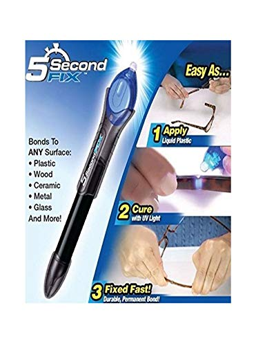 Magic Quick 5 Second UV Light Fix Liquid Glass Welding Compound Glue Repair...
