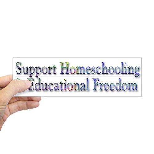 CafePress Support Homeschooling ~ Sticker 10