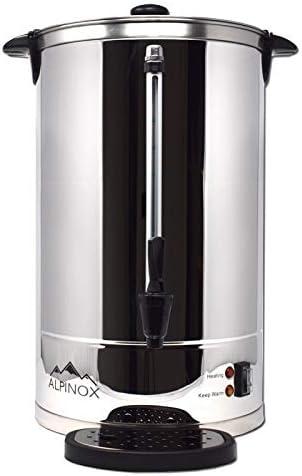Percolateur Professionnel à Café 8 L avec filtre permanent pour 60 tasses- AROMA