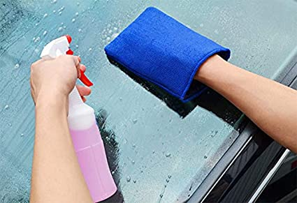 Auto Waschhandschuhe Mit Erstklassige Saugkraft Mikrofaser Handschuhe Für Die Autowäsche Auto